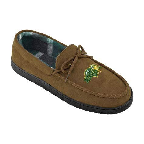 bison slippers ncaa s dakota state bison brown