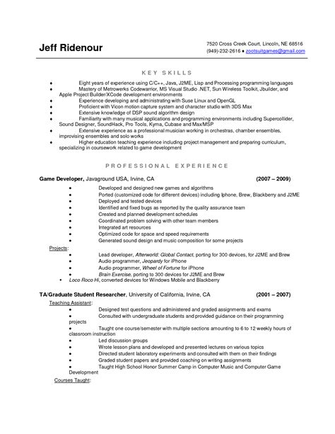 Cover Letter Exles Computer Science Internship cover letter sle for science internship 28 images