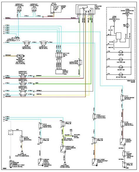 wiring diagram toyota landcruiser 79 series wiring