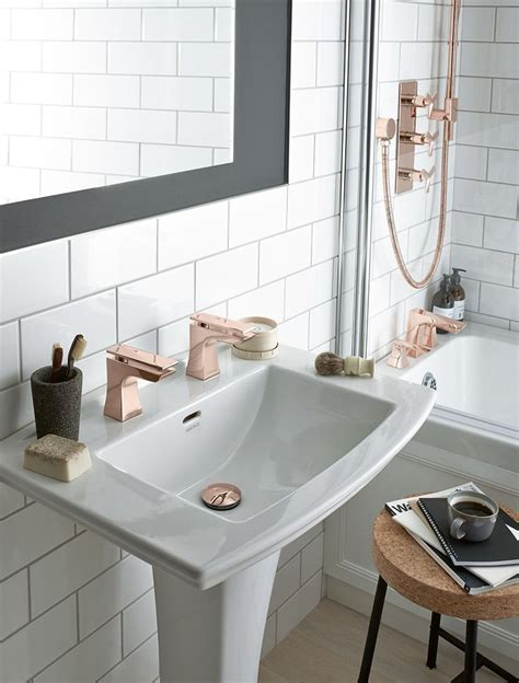gold taps for bathrooms best 25 gold bathroom accessories ideas on pinterest