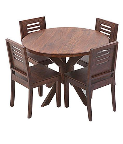 Solid Wood 6 Seater Dining Set Buy Solid Wood 6 Seater Dining Set At Best Prices In Ethnic India Solid Wood 4 Seater Dining Set Buy Ethnic India Solid Wood 4 Seater