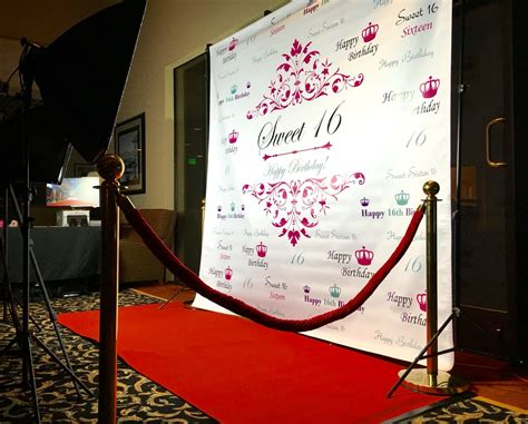 design red carpet backdrop step and repeat backdrop sf bay photo party