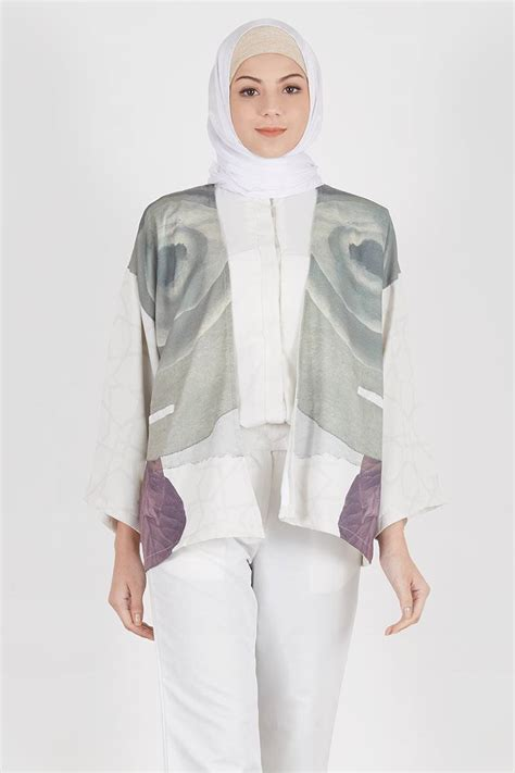 Sale Outer Grey sell berberis outer grey outerwear hijabenka