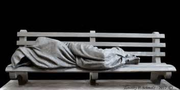 homeless jesus sculpture is far more effective at