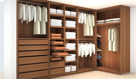 closets walnut wood tedeschi design italian custom