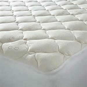 plush bamboo top mattress pad reviews