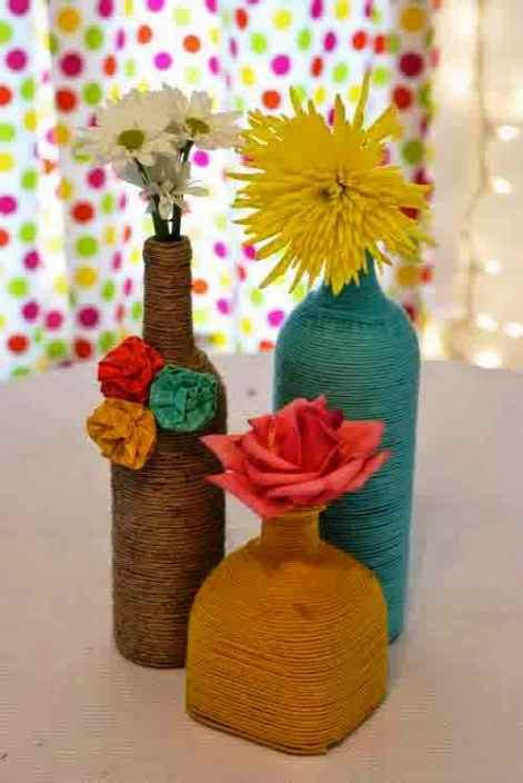 Vas Bunga 4 14 gambar vas bunga cantik dan unik dari barang bekas