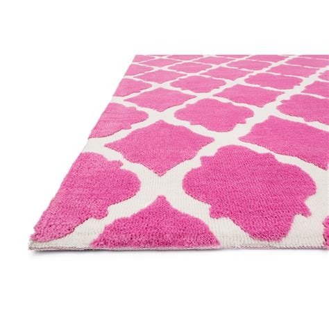 The Conestoga Trading Co Paddington Pink Area Rug Rugs Pink