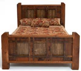 rustic bedroom furniture on rustic log