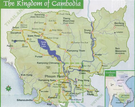 5 themes of geography cambodia cambodia trip map of cambodia