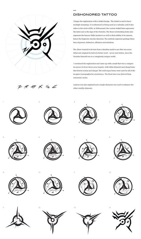 dishonored tattoo 25 trending dishonored symbol ideas on