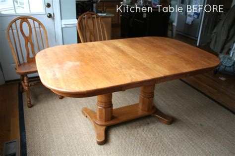 how to refinish kitchen table how to refinish a table sand and sisal