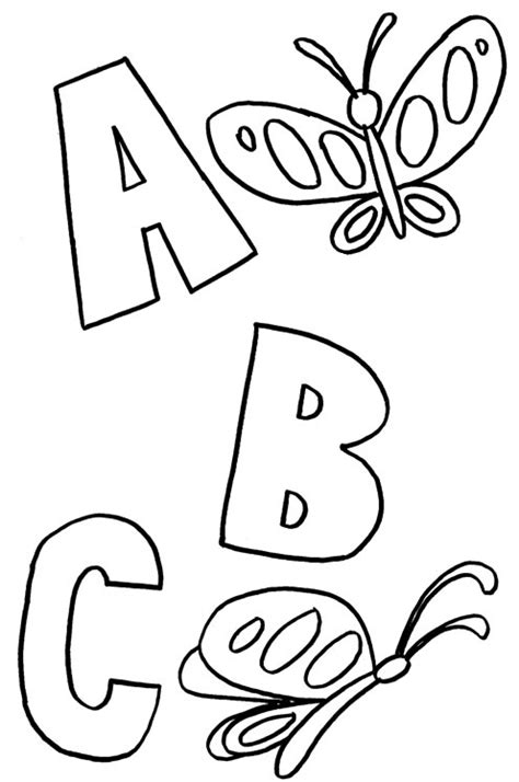 Abc Coloring Pages Coloring Pages To Print Colouring Pages Abc