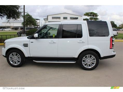 land rover lr4 white 2017 2016 fuji white land rover lr4 hse 108755178 photo 8