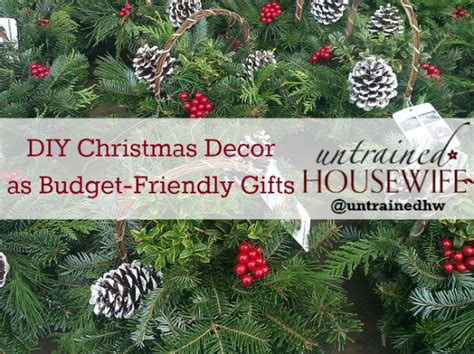 two crafts to give as budget friendly christmas gifts