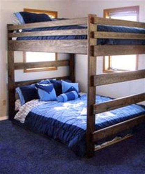 double queen bunk bed bunk bed plans 2x4 woodworking projects plans