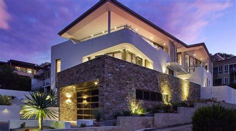 imagenes de casas minimalistas en australia moderna casa con fachada de piedra en australia arquitexs