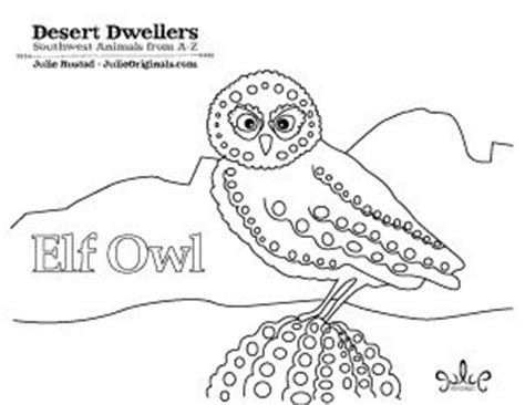 elf owl coloring page quot elf owl quot coloring page by julie rustad for the kids