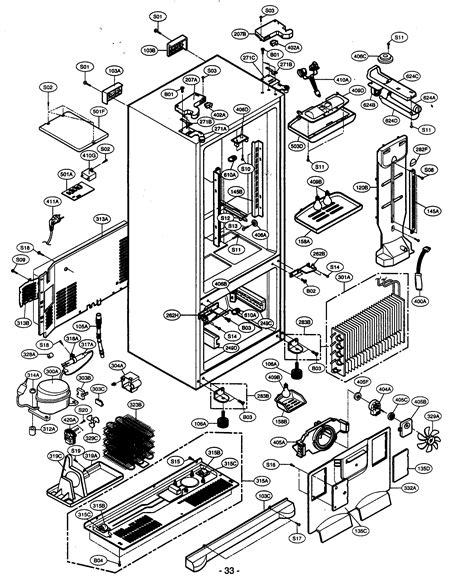 kenmore elite refrigerator diagram kenmore elite refrigerator parts model 79575194400