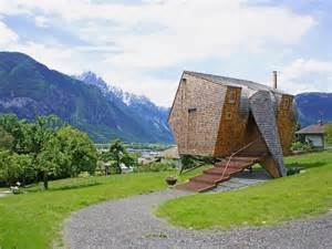 Summer Vacation Homes For Rent - small unusual cabin made entirely of wood ufogel home building furniture and interior