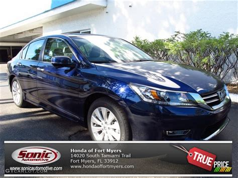 obsidian blue color 2013 obsidian blue pearl honda accord ex l sedan 71434419