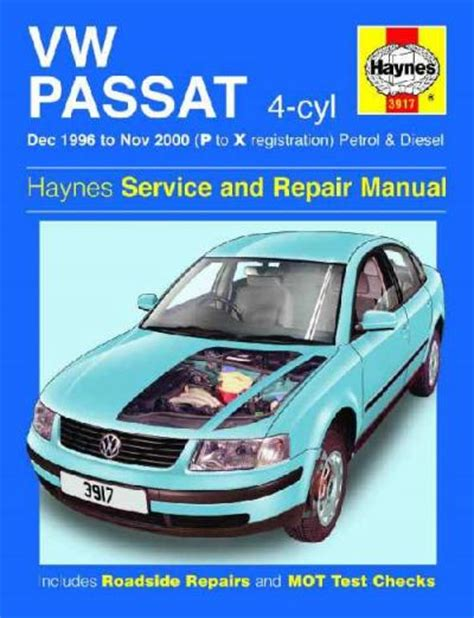 book repair manual 1994 volkswagen passat auto manual vw volkswagen passat b5 petrol diesel 1996 2000 sagin workshop car manuals repair books
