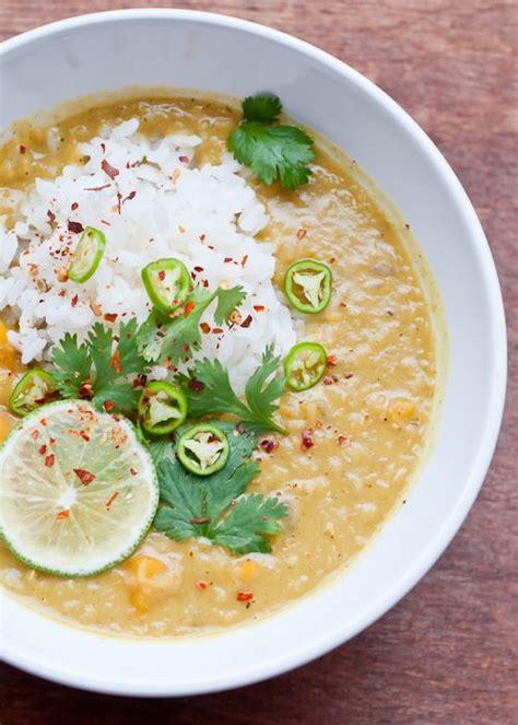 Lemongrass Detox Soup by Coconut Lentil Soup With Lemongrass And Recipe