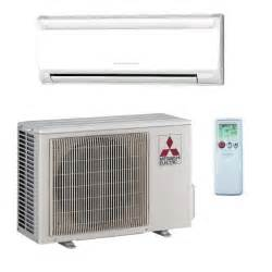 Mitsubishi Electric Split Systems 9 000 Btu Mitsubishi 26 Seer Heat Ductless Mini Split