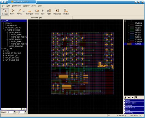 k layout editor klayout layout viewer and editor