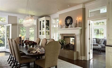 fireplace in dining room instead of living room 13 exles of how to include a double sided fireplace