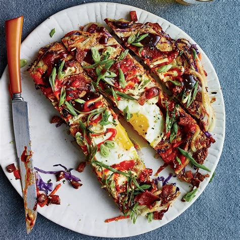 red cabbage and fried mortadella okonomiyaki recipes
