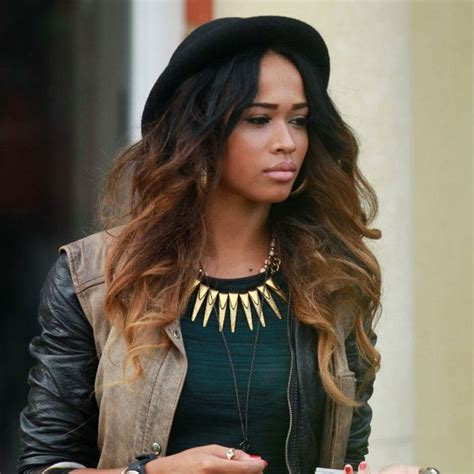 ombre hair weave african american x factor s tamera foster apologies profusely to producers