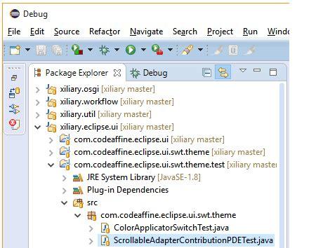 eclipse theme default restore clean sheet eclipse theme