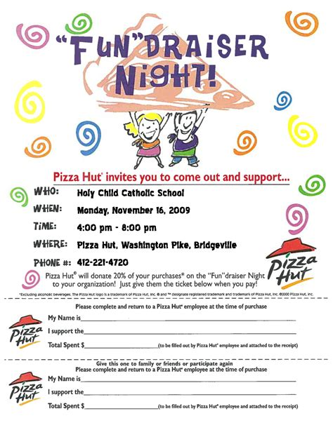 fundraiser flyer bing images