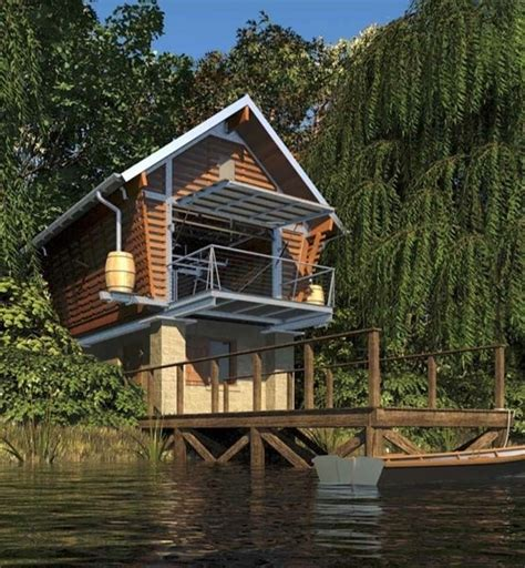 Cabins On The Water by Cabin On The Water Waters Edge