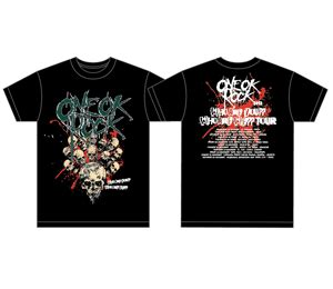 Kaos One Ok Rock Tshirt One Ok Rock Kaos Band One Ok Rock headshot one ok rock live in malaysia the concert