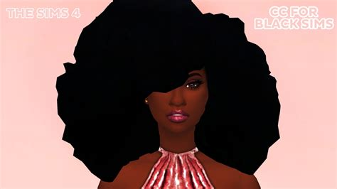 sims 4 cc afro black hair sims 4 best hairstyles 2017