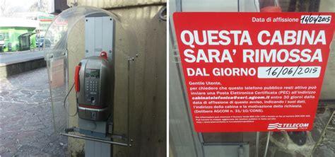 cabina telefonica telecom vercurago la cabina telefonica 232 da dismettere leccoonline