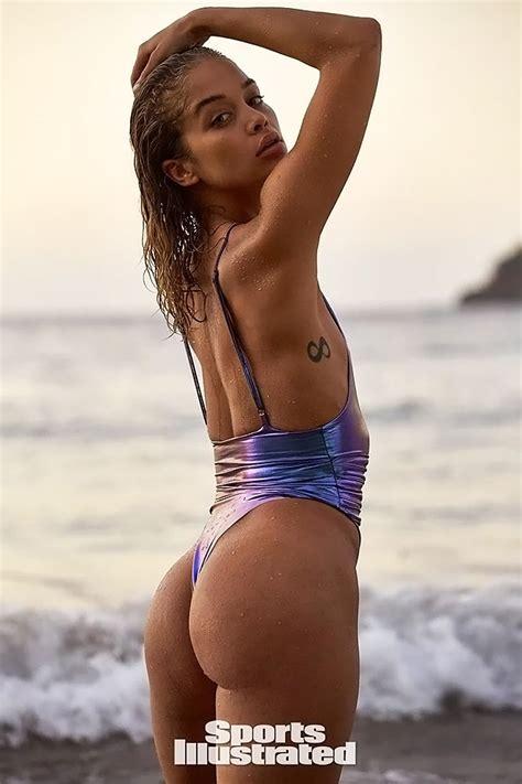 Jasmine Sanders NUDE Topless Sexy Sports Illustrated Photos