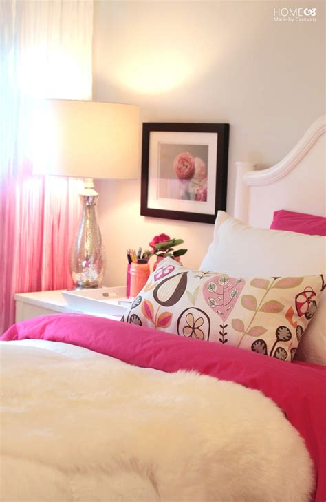 my pink bedroom princess pink bedroom reveal home made by carmona