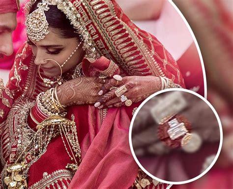deepika padukone ring deepika padukone wedding ring bridal lehenga and jewellery