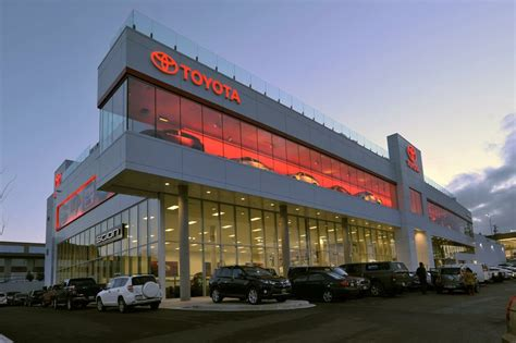 largest toyota dealer jim pattison toyota opens ultra modern 68 400