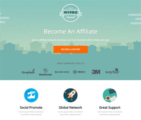 free landing page templates for affiliate landing page templates free premium free