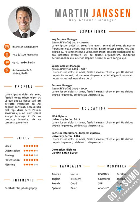 academic cv template curriculum vitae academic cvs student