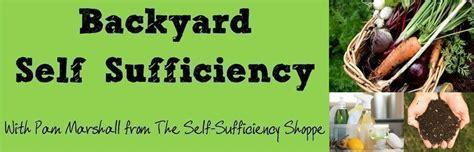 backyard  sufficiency  pam marshall