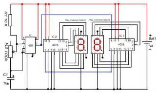 efkids digital pulse counter two digit using seven