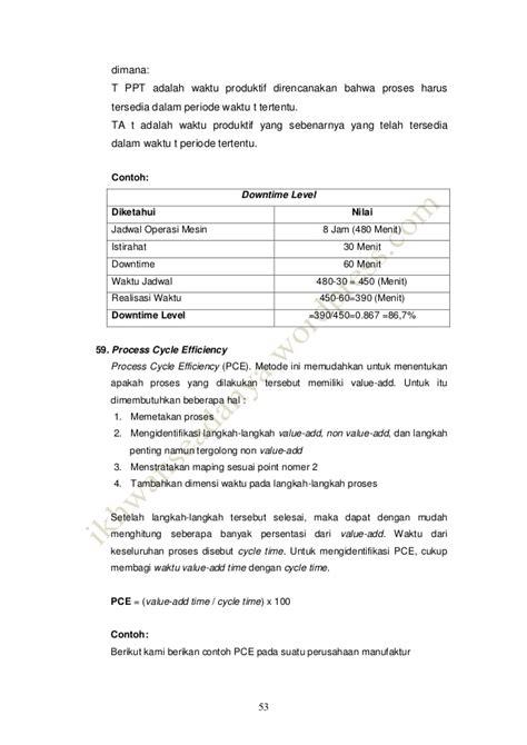 contoh laporan quantity surveyor 80 variabel key performance indicators