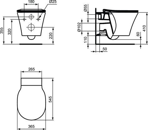 Chaise De Toilette Pour Handicapé by Hauteur D Un Wc Suspendu Wc Suspendu Oeuf Blanc Avec