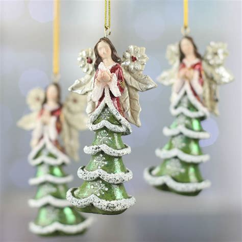 christmas tree angel ornament christmas ornaments