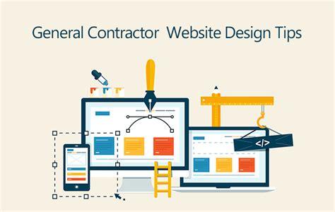 5 marvellous tips for general contractor website design